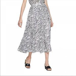 Who What Wear Zebra Print Skirt